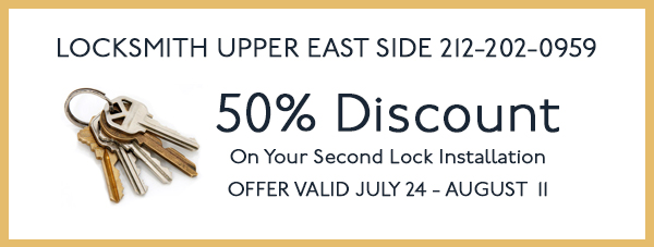Lock installation reduce price, get the second installation for half price